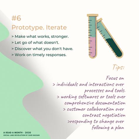 #6 Prototype. Iterate