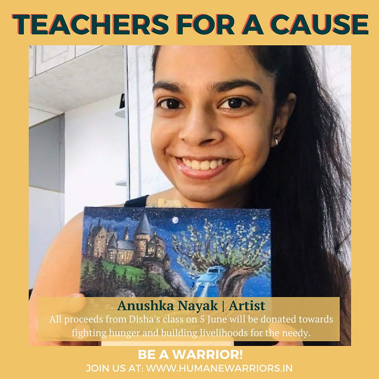 RAISED 16,000 INR! Art for a cause with Anushka