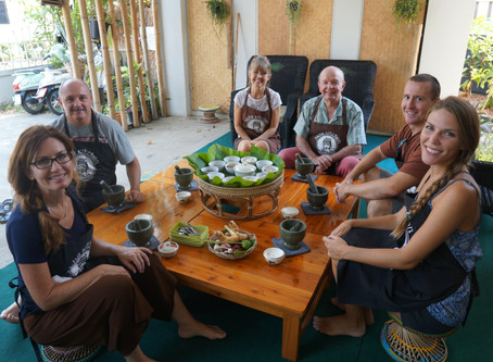 Cooking class in Chiang Rai