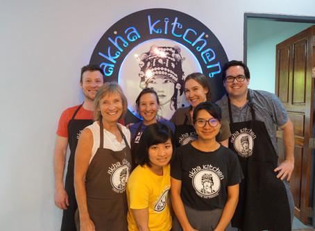 Akha Kitchen Cooks up Fun!