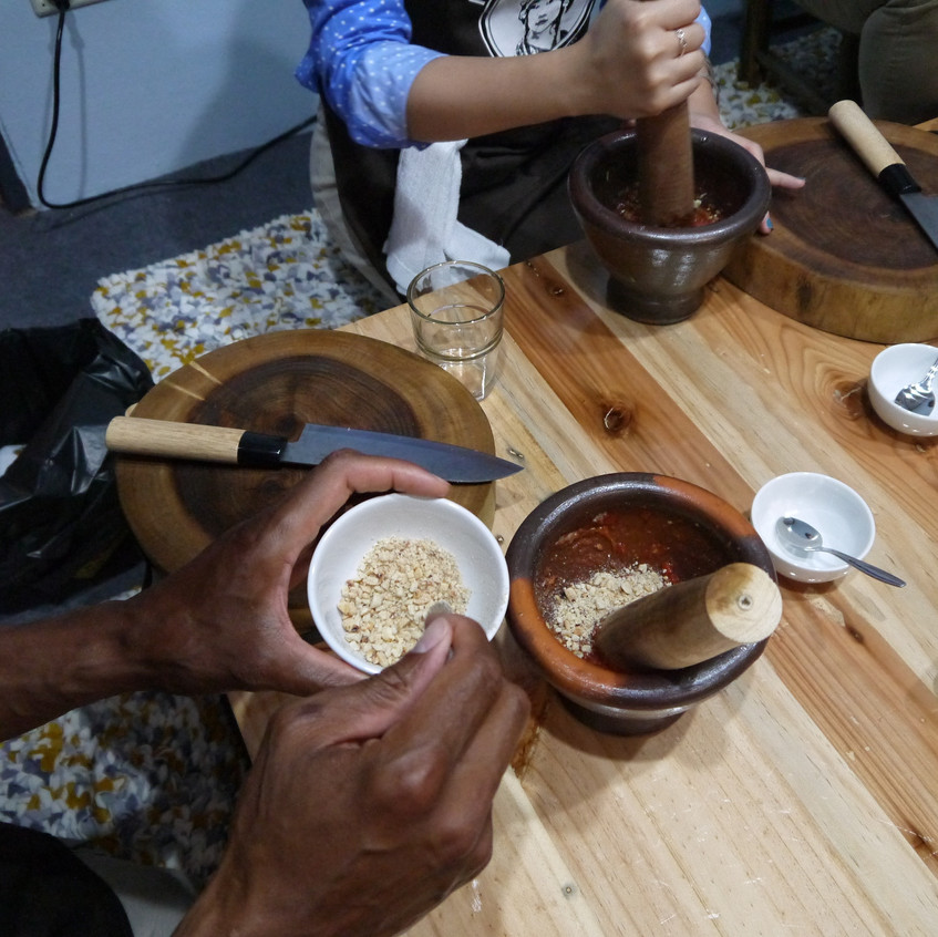 making sapi tong...
