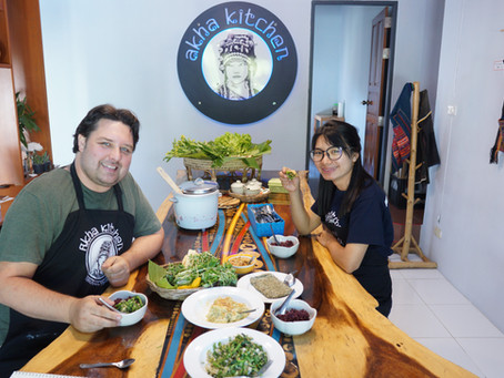 Special Akha Cooking Class