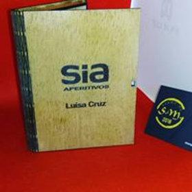 Livro (caixa) em contraplacado