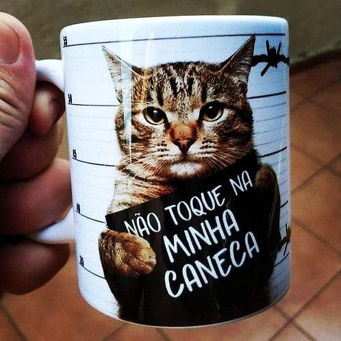 Caneca com gato