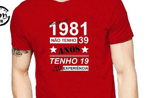 T-shirt idade