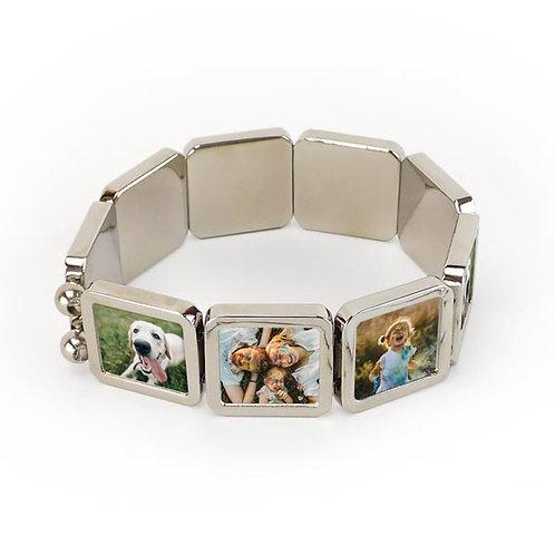 Pulseira / bracelete com fotos