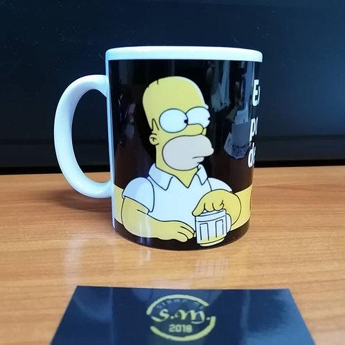 Caneca Homer Beer