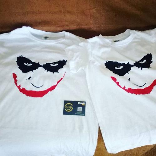 T-Shirts Pais e filhos Joker