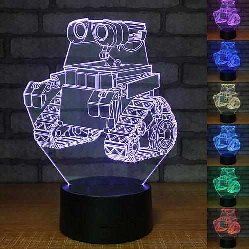 Candeeiro Wall-E robot