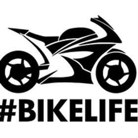 Autocolante vinil #bikelife