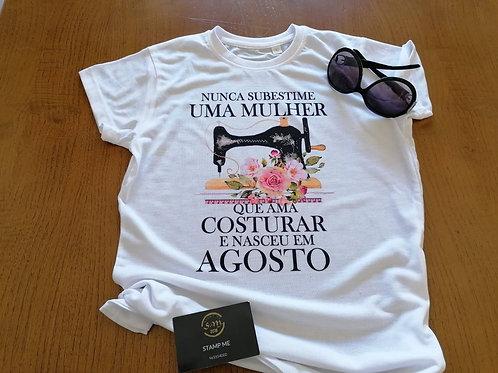 T-shirt Costura