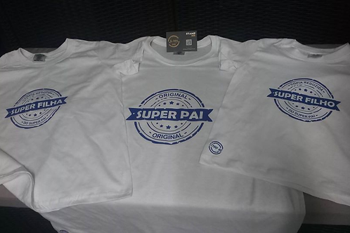 T-Shirts Super Pai e Super filho - Original