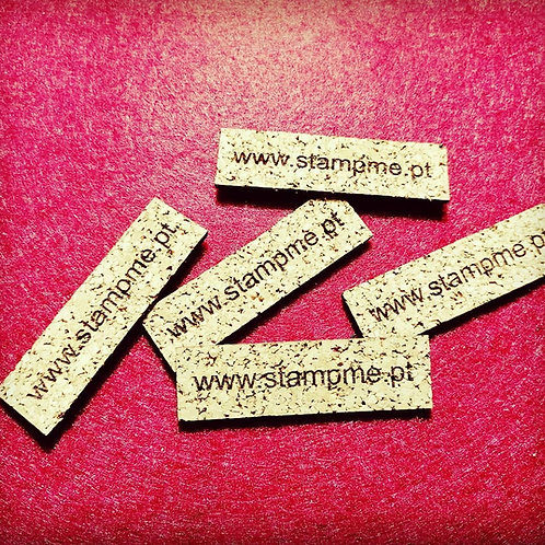 Etiquetas cortiça