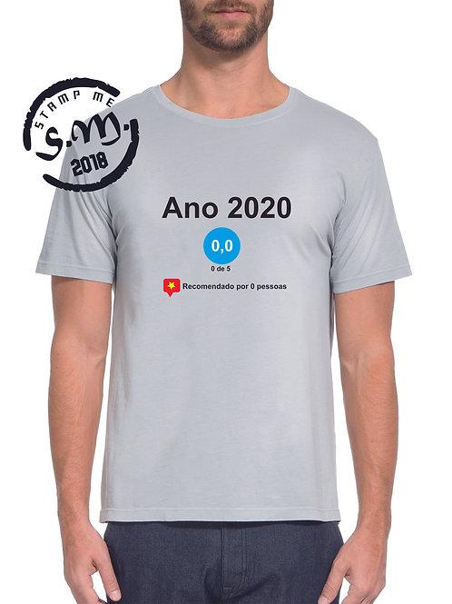 T-shirt recomendação 2020