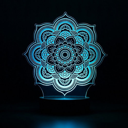 Candeeiro Led Mandala