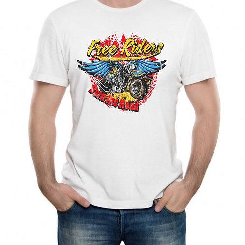 T-shirt Personalizada Free Riders
