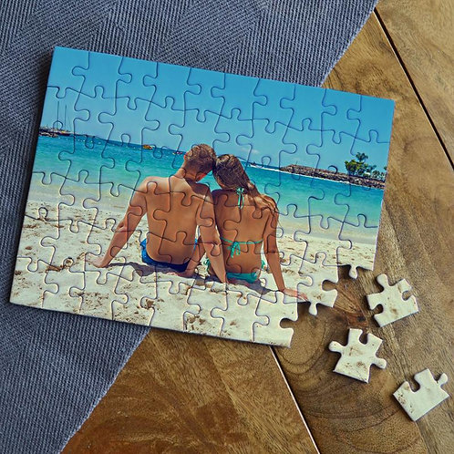 Puzzle em madeira com foto