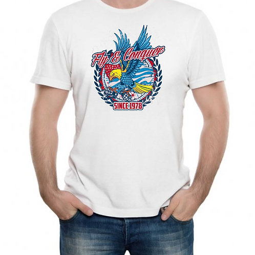 T-shirt Personalizada Fly & Conquer