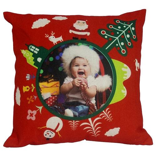 Almofada de Natal com foto