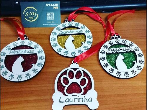Ornamento de Natal para animal de estimação