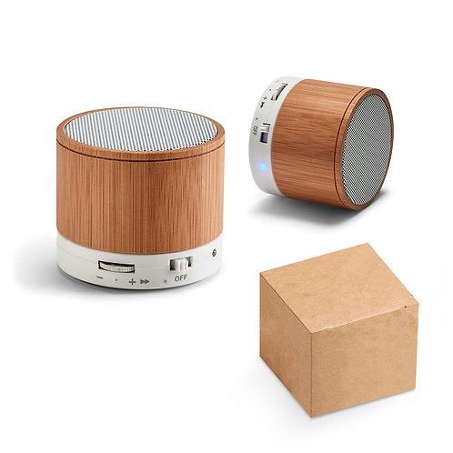 Coluna bambu USB