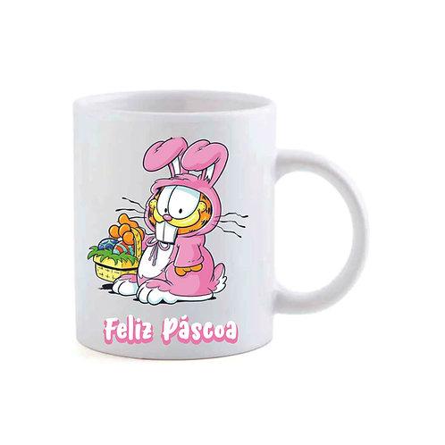 """Caneca """"Coelhinho""""Garfield"""