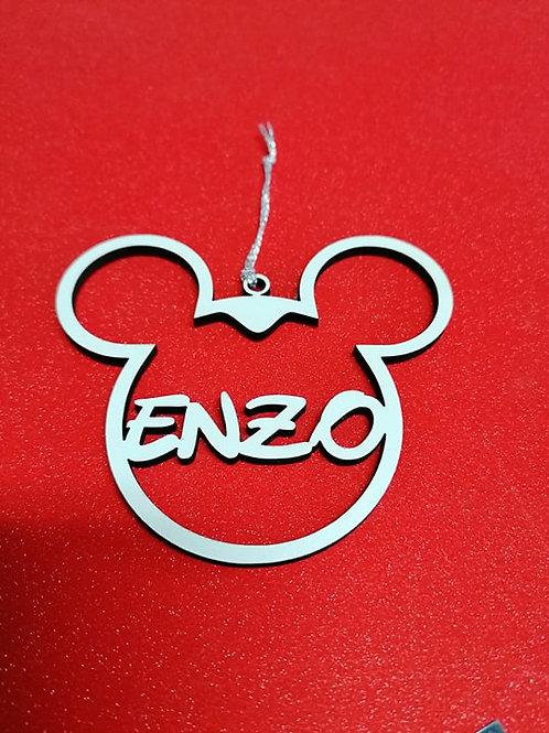 Bolinha de Natal Mickey e Minnie