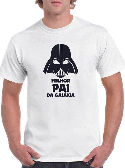 T-shirt Melhor Pai da Galáxia