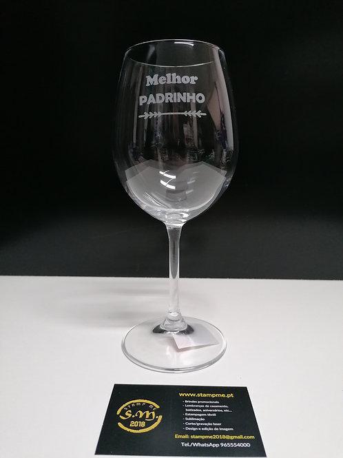 Copo vinho com ou sem caixa