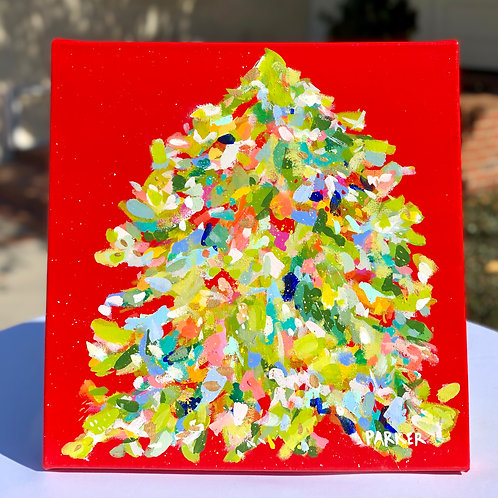 Don't Get Your Tinsel in a Tangle - 16x16