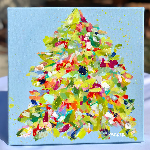 Santa Claus Is Coming To Town - 12x12