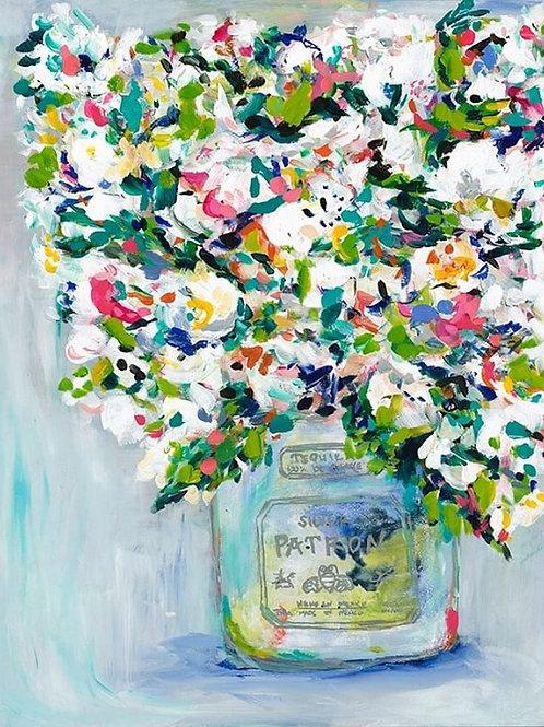 Patrón Tequila Blooms Print