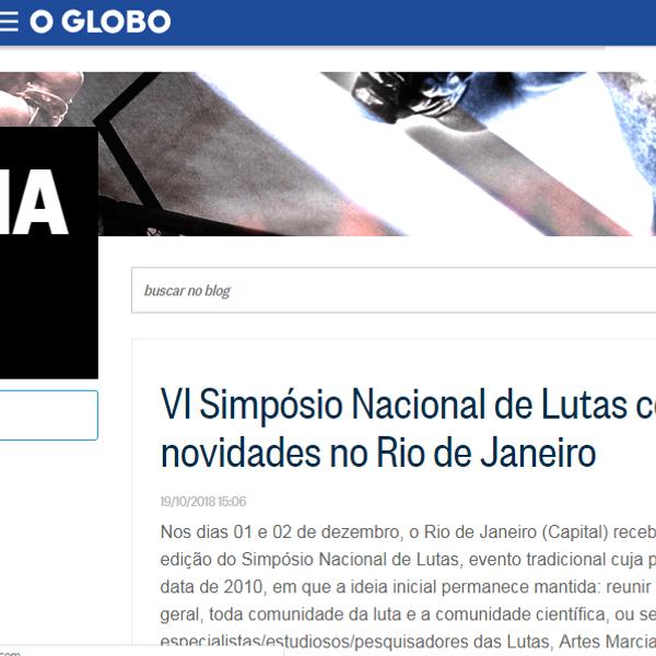 O_Globo_VI_Simpósio_Nacional_de_Lutas.pn