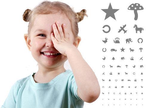 Диагностика зрения у детей с 7 лет