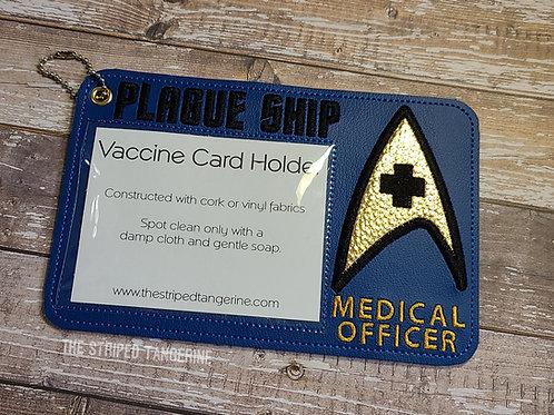 Vaccine Card Holder- Plague Ship