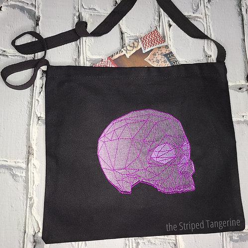 Messenger Bag - Geo Skull