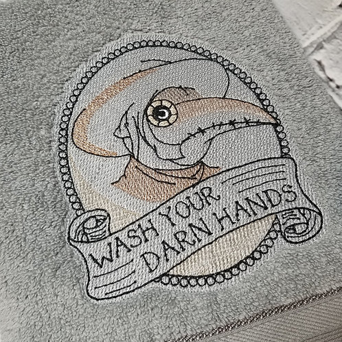 Wash Your Hands Hand Towel