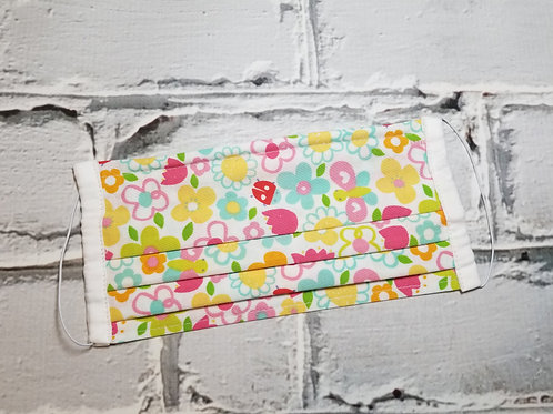 Fabric Dust Mask- Spring Floral