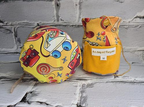 Yarn Squatcher - Retro Toys Orange