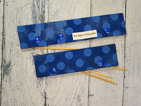 DPN Case - Blue Grunge Dots