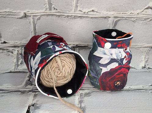 Yarn Squatcher - Winter Floral