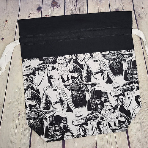 Drawstring Project Bag - Sketchy StarWars