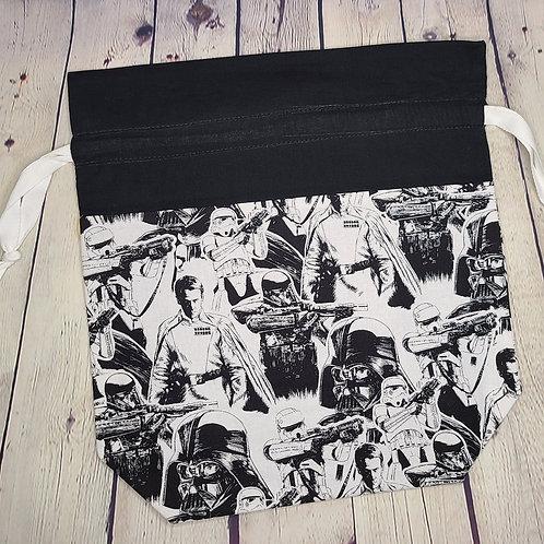 Drawstring Project Bag - Sketchy StarWars