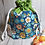 Thumbnail: Drawstring Project Bag - Retro Floral