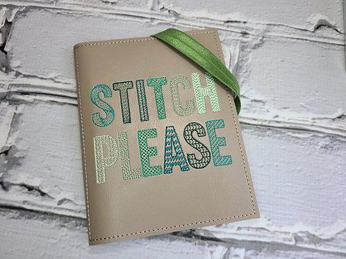 A6 Notebook Cover - Stitch Please