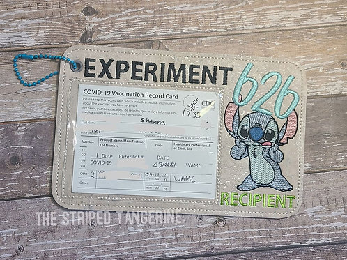 Vaccine Card Holder- Experiment 626