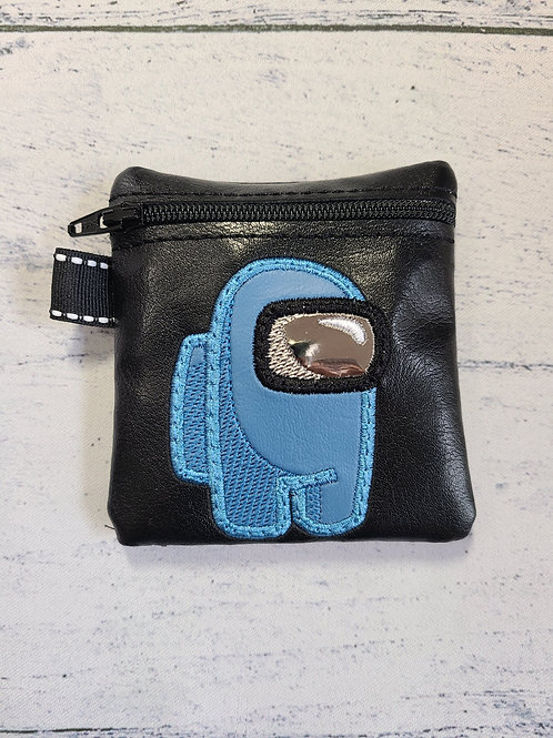 Small Embroidered Zipper Pouch - Sus Dude