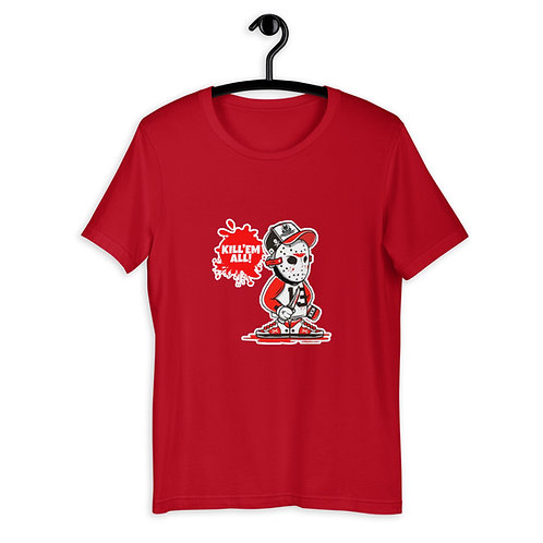 Kill'em All Outline Short-Sleeve Unisex T-Shirt
