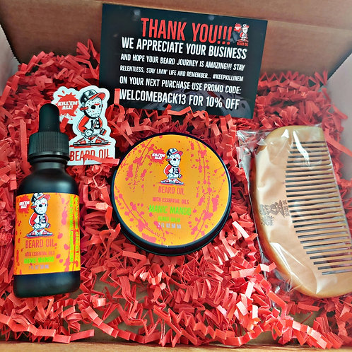 Manic Mango Beard Box