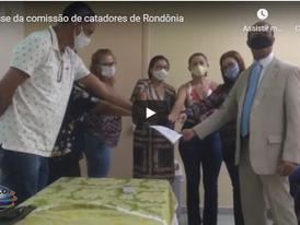 Comissão de catadores de recicláveis é empossada em Rondônia